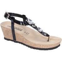 Chaussures Femme Sandales et Nu-pieds Dott House Sandales Cuir verni Noir