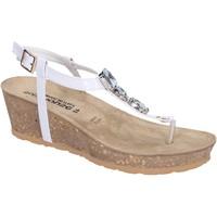 Chaussures Femme Sandales et Nu-pieds Dott House Sandales Cuir verni Blanc
