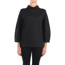 Vêtements Femme Tops / Blouses Anna Seravalli S1005 Chemisiers Femme Noir Noir