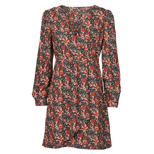 Vêtements Femme Robes courtes Betty London NOMIM Noir / Rouge