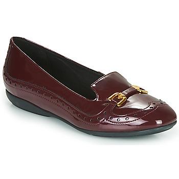 Chaussures Femme Ballerines / babies Geox D ANNYTAH Bordeaux
