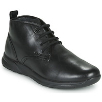 Chaussures Homme Baskets montantes Geox U DAMIAN Noir