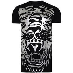 Vêtements Homme T-shirts manches courtes Ed Hardy - Big-tiger t-shirt Noir