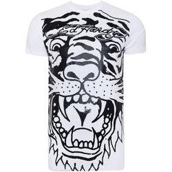 Vêtements Homme T-shirts manches courtes Ed Hardy - Big-tiger t-shirt Blanc
