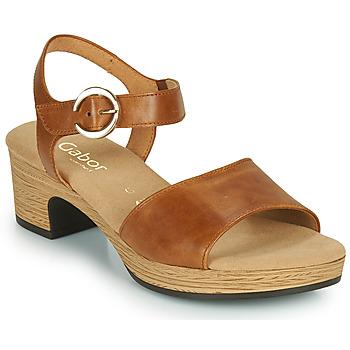 Chaussures Femme Sandales et Nu-pieds Gabor 6272153 Camel
