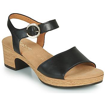 Chaussures Femme Sandales et Nu-pieds Gabor 6272157 Noir