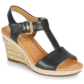Chaussures Femme Sandales et Nu-pieds Gabor 6282457 Noir