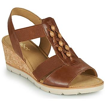 Chaussures Femme Sandales et Nu-pieds Gabor 6575024 Marron