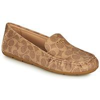 Chaussures Femme Mocassins Coach MARLEY DRIVER Marron