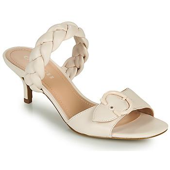 Chaussures Femme Mules Coach MOLLIE Ivoire