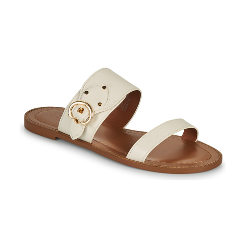 Chaussures Femme Mules Coach HARLOW Ivoire