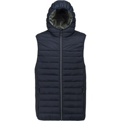 Vêtements Homme Doudounes Proact Doudoune sans manches à capuche bleu marine