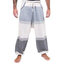 Vêtements Pantalons Fantazia Pantalon sarouel droit casual Zhenadi Blanc / écru