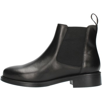 Chaussures Femme Bottines Frau 98L3 Noir