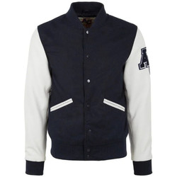 Vêtements Homme Blousons American College REF 70 NAVY/WHITE Bleu/blanc