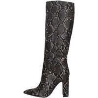 Chaussures Femme Bottes ville Steve Madden ROUGE PYTHON.