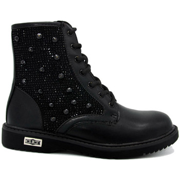 Chaussures Fille Boots Cult Glam bottine Noir