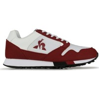 Chaussures Homme Baskets basses Le Coq Sportif Baskets  Manta Retro blanc/rouge bordeaux/noir