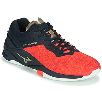 Chaussures Homme Sport Indoor Mizuno WAVE STEAL TH NEO Rouge / Bleu