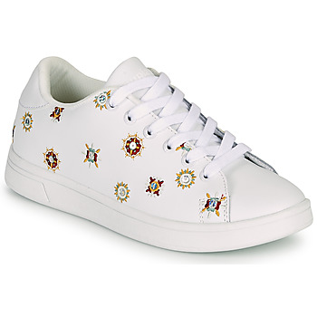 Chaussures Femme Baskets basses Desigual COSMIC JULIETTE Blanc