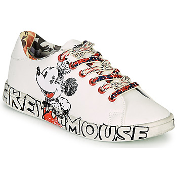 Chaussures Femme Baskets basses Desigual COSMIC MICKEY Blanc