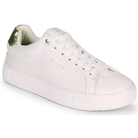 Chaussures Femme Baskets basses Pepe jeans ADAMS MOLLY Blanc / Doré