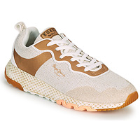 Chaussures Femme Baskets basses Pepe jeans KOKO KITE Beige