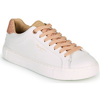 Chaussures Femme Baskets basses Pepe jeans ADAMS DASS Blanc / Rose