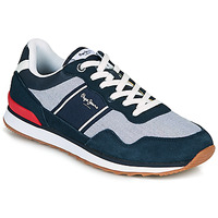 Chaussures Homme Baskets basses Pepe jeans CROSS 4 SAILOR Marine / Gris