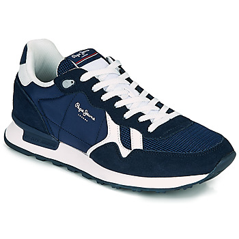 Chaussures Homme Baskets basses Pepe jeans BRITT MAN BASIC Marine
