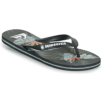 Chaussures Homme Tongs Quiksilver MOLOKAI EVERYDAY Noir