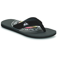Chaussures Homme Tongs Quiksilver MOLOKAI LAYBACK Noir / Logo