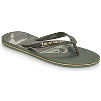 Chaussures Homme Tongs Quiksilver MOLOKAI PANEL Kaki