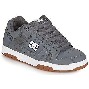 Chaussures Homme Chaussures de Skate DC Shoes STAG Gris / Gum