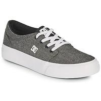Chaussures Garçon Chaussures de Skate DC Shoes TRASE B SHOE XSKS Gris