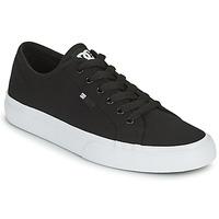 Chaussures Homme Chaussures de Skate DC Shoes MANUAL Noir / Blanc