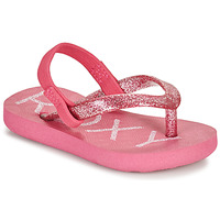 Chaussures Fille Tongs Roxy TW VIVA SPARKLE Rose