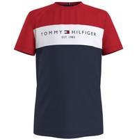 Vêtements Garçon T-shirts manches courtes Tommy Hilfiger LEOP Multicolore