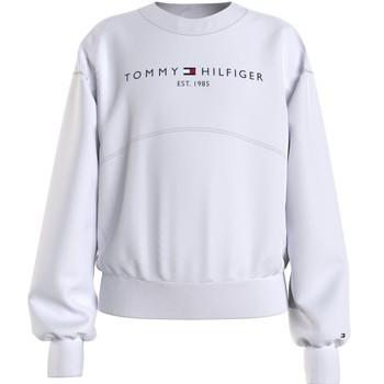Vêtements Fille Sweats Tommy Hilfiger THUBOR Blanc