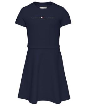 Vêtements Fille Robes courtes Tommy Hilfiger NIMINO Marine