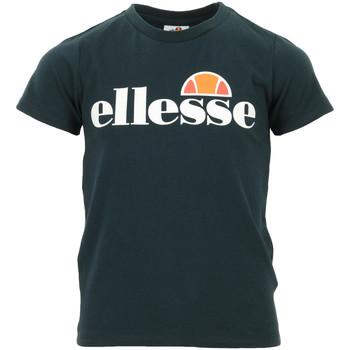Vêtements Enfant T-shirts manches courtes Ellesse Malia Tee Jr bleu