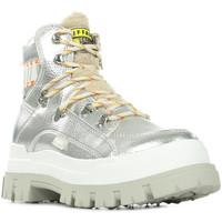 Chaussures Femme Boots Buffalo Aspha NC Fur argent