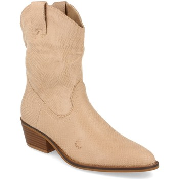 Chaussures Femme Bottines Buonarotti 1A-0339 Beige