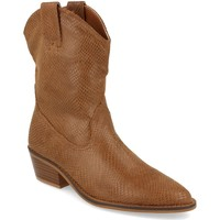 Chaussures Femme Bottines Buonarotti 1A-0339 Camel