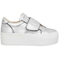 Chaussures Femme Baskets basses No Name spice easy grain argent