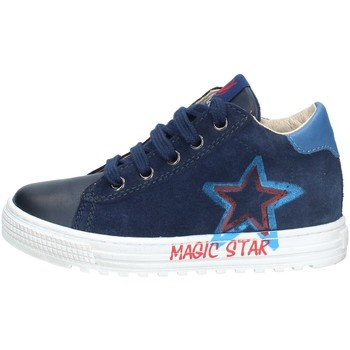 Chaussures Garçon Baskets montantes Naturino 001- 2015378 01 MARINE