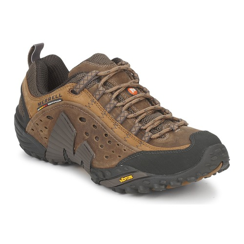 Merrell Intercept Marron - Chaussures Baskets basses Homme