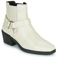 Chaussures Femme Bottines Vagabond SIMONE Blanc