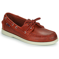 Chaussures Homme Chaussures bateau Sebago PORTLAND WAXED Rouge