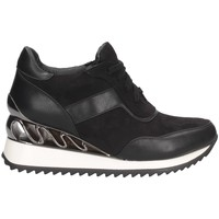 Chaussures Femme Baskets montantes Exé Shoes Exe' K34-A864 Basket Femme NOIR NOIR
